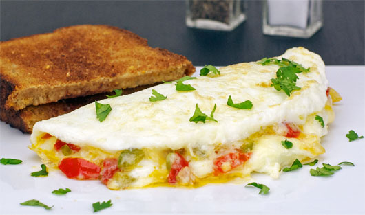 Egg White Body Builder Omelet
