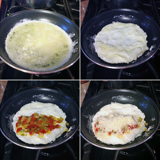 Making A Body Builder Omelet