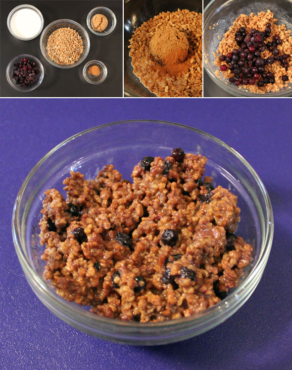 Blueberry Grape-Nut Porridge