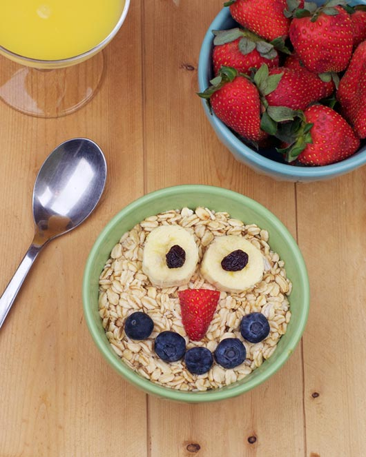 Fruit Juice Oatmeal