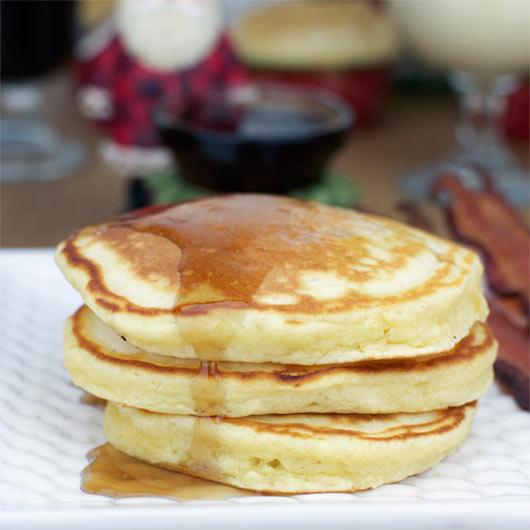 Eggnog Pancakes Recipe | MrBreakfast.com
