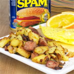 Spam Breakfast Hash