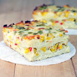 Double Corn Tortilla Casserole