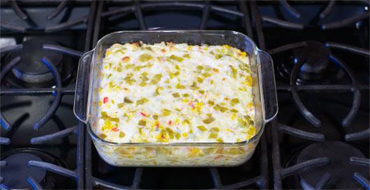 Double Corn Tortilla Casserole Recipe Mrbreakfast Com
