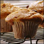 Banana Orange Oat Muffins