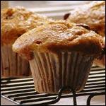 Muffins di avena all'arancia di banana