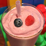 Iced Fruit Smoothie