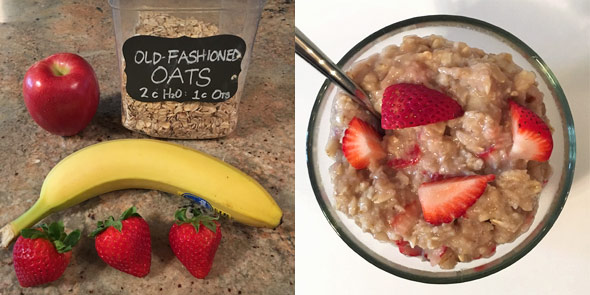 Easy Fruity Porridge