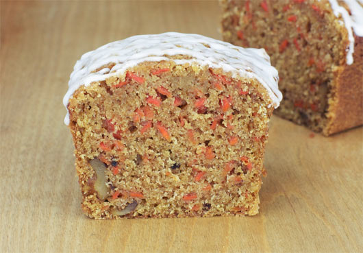 Inside The Carrot Cake Breakfast Bread