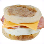Microwave Breakfast Sandwich