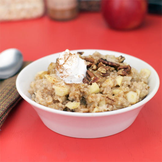 Get Microwave Le Cinnamon Oatmeal Recipe From Food Network Ings 1 Preferably Mcintosh Cored And Coly Les Baked