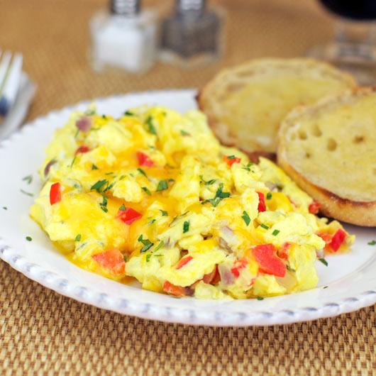 egg eggs scrambled on toast spicy scrambled egg spiced scrambled eggs ...