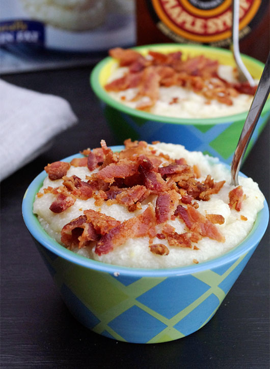 Maple Bacon Grits