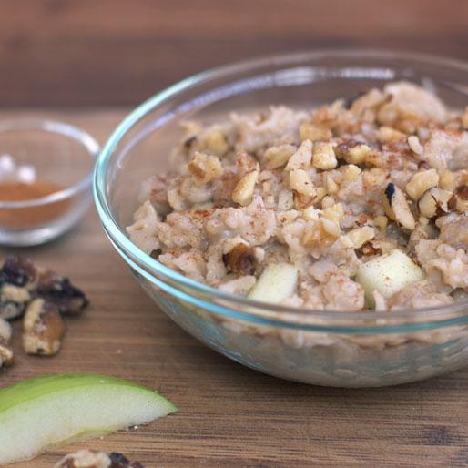 Apple Walnut Oatmeal