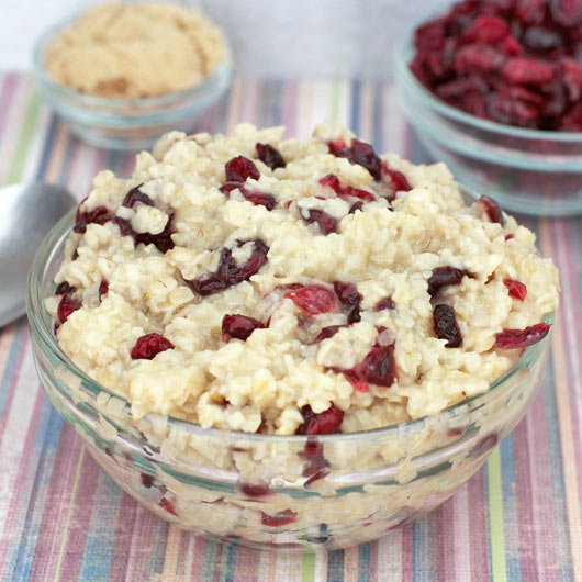 Cranberry Oatmeal Recipe