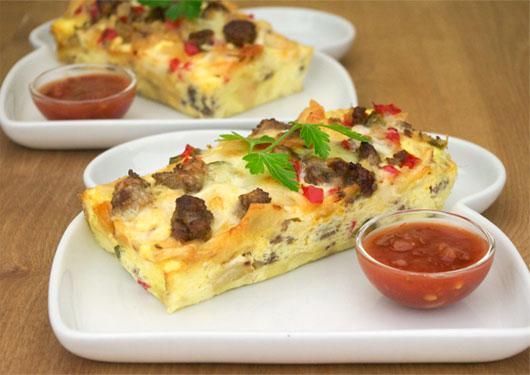 Southwestern Breakfast Casserole Recipe | MrBreakfast.com