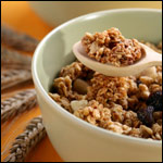 Almond Raisin Granola, Healthy Junk Food