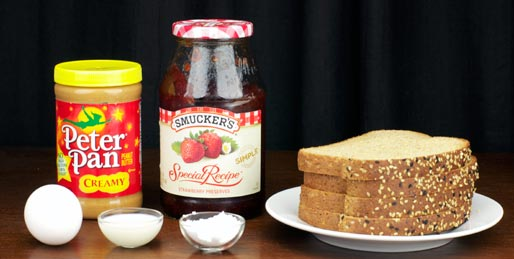 Peanut Butter And Jelly French Toast Ingredients