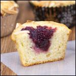 Muffin al Ringraziamento ai mirtilli rossi