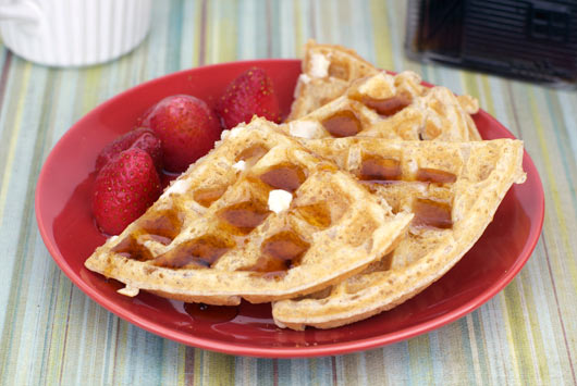 Whole Grain Waffle Recipe