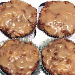 Muffins di avena acero sani