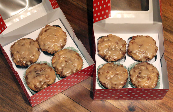 Healthy Maple Oat Muffins