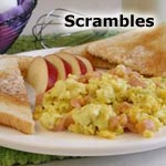 Sour Cream Scrambled Eggs Recipe | MrBreakfast.com