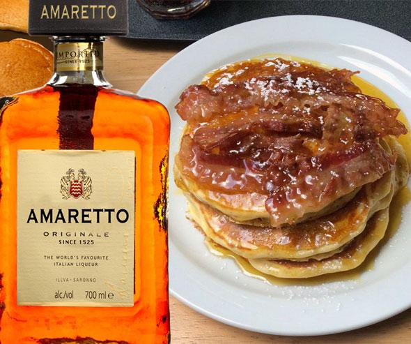 Amaretto Pancakes Recipe