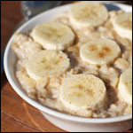 Banana Cream Oatmeal