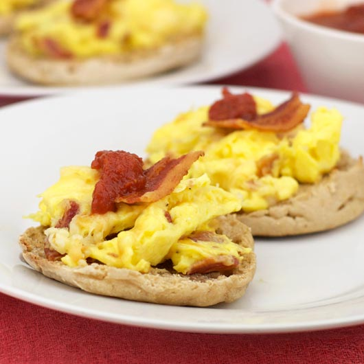 Bacon Mozzarella Eggs