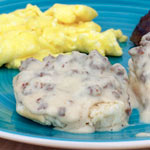 Spicy Sausage Gravy (For  Biscuits)