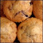 Muffins alla banana del mirtillo