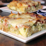 Bacon Crouton Breakfast Casserole