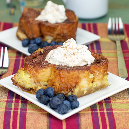 Caramel Soaked French Toast