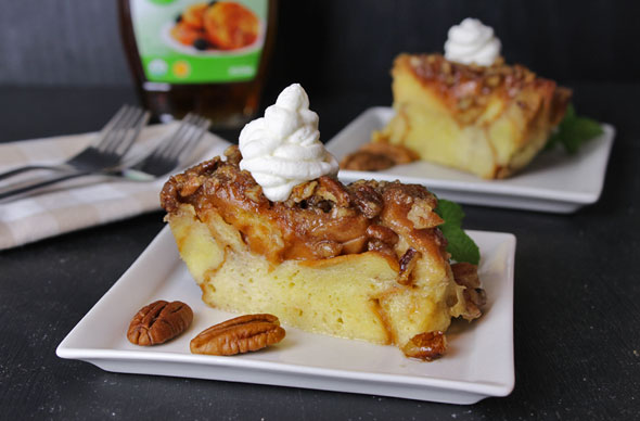 Baked French Toast Casserole With Praline Topping