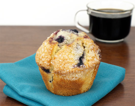 Blueberry Ginger Muffin