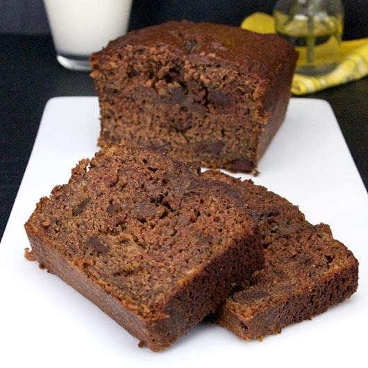 Chocolate Banana Bread Recipe | MrBreakfast.com