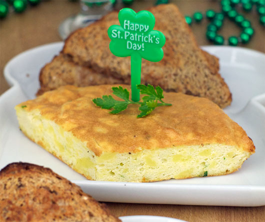 Irish Omelette For St. Patrick's Day