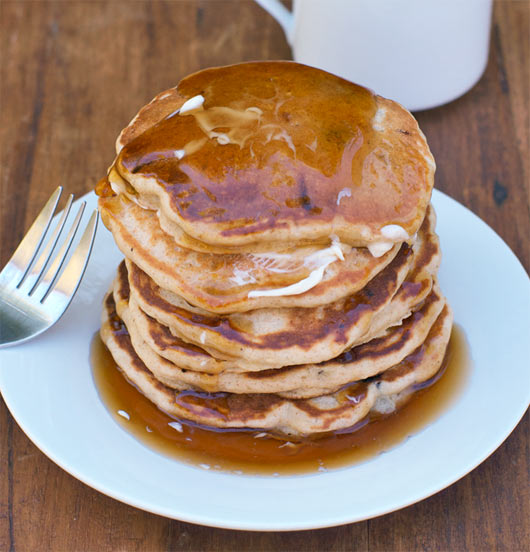 Stack of Maple Pancakes