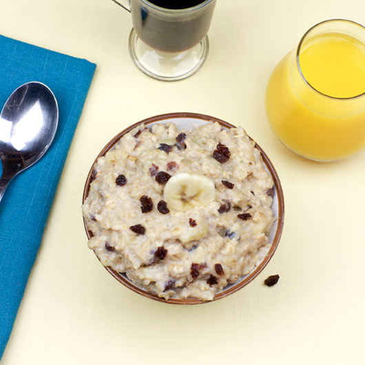 Easy Banana Date Oatmeal