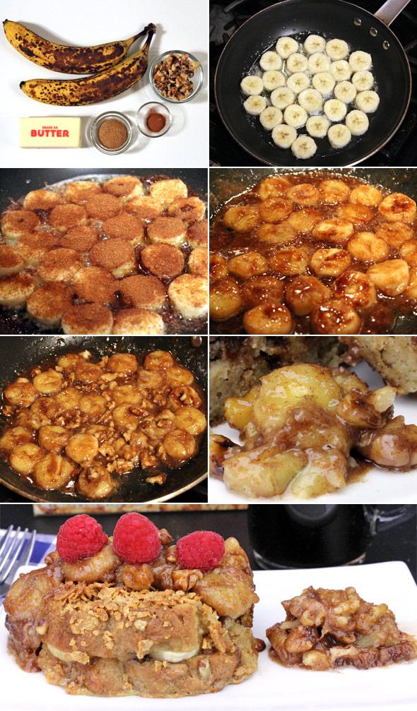 banana walnut pancake topping recipe mrbreakfast com