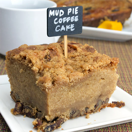 Mud Pie Coffee Cake – A very unique coffee cake with a center ...