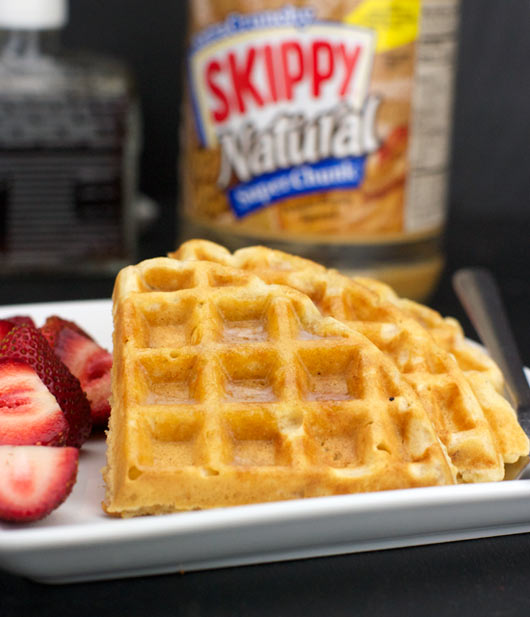 Best Peanut Butter Waffles Recipe | MrBreakfast.com