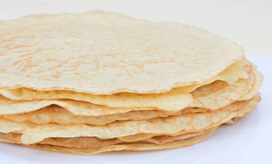 Stack of Easy Crepes