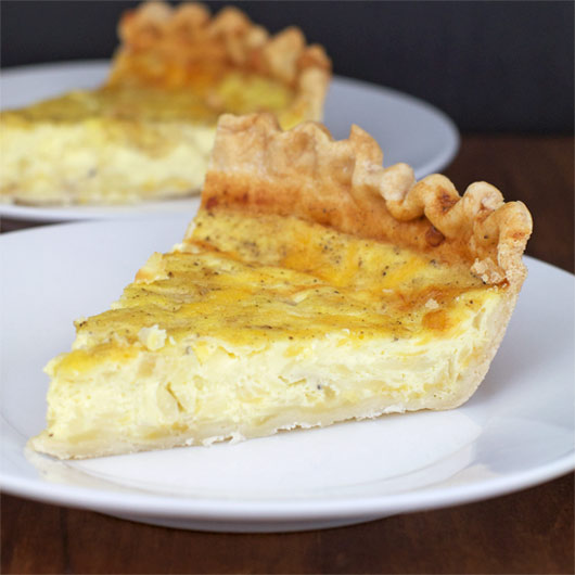 cream cheese quiche