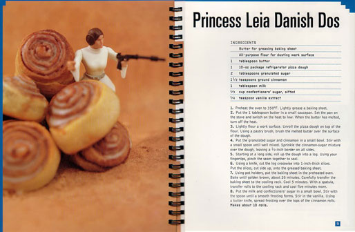 Princess Leia Danish Dos Recipe