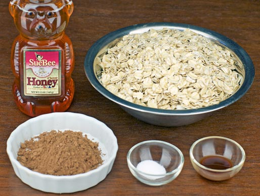 Ingredients For Cocoa Granola