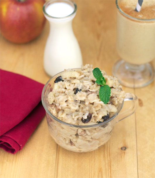 Maple Apple Raisin Oatmeal