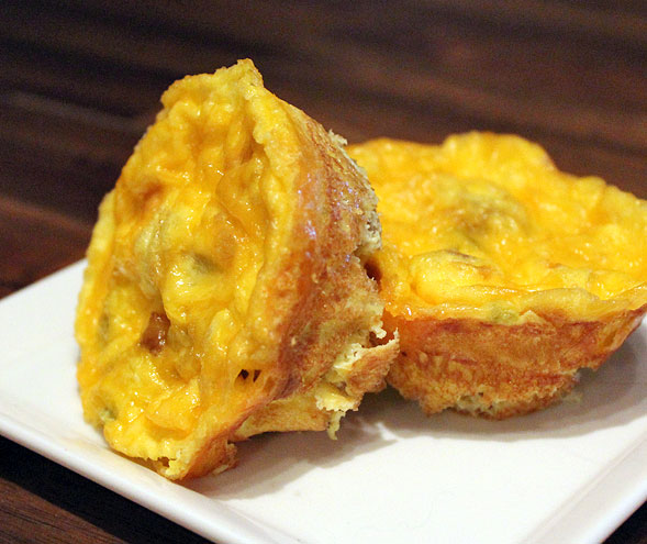 Scrambled Egg Muffins (Alternate Version)