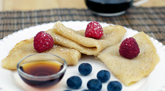 No Eggs Crepe Recipe